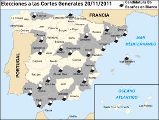 Mapa electoral de Eb. Mapa original cortesía de Emilio Gómez Fernández y Darz Mol
